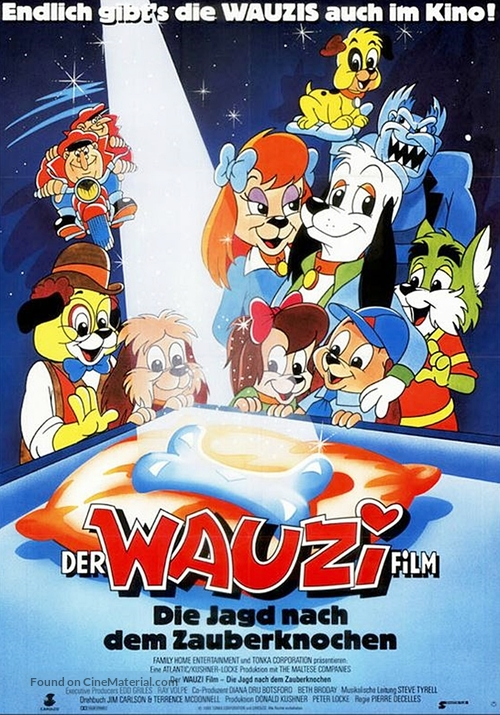 Pound Puppies and the Legend of Big Paw - German Movie Poster