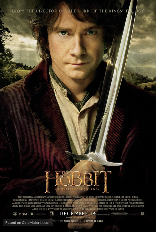 The Hobbit: An Unexpected Journey - Movie Poster