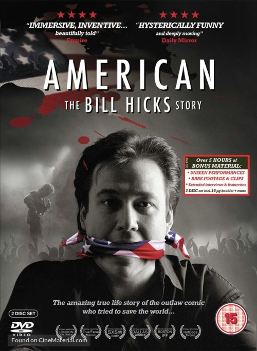 American: The Bill Hicks Story - British DVD movie cover