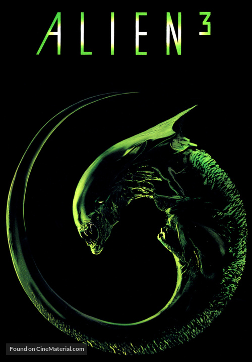 Alien 3 - DVD movie cover