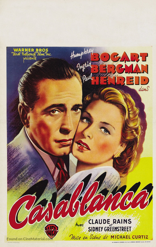 a review of the classic movie casablanca