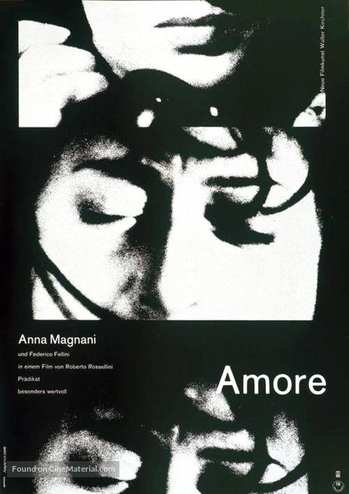 Amore, L' - German Movie Poster