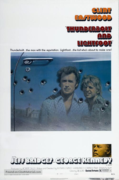 Thunderbolt And Lightfoot - Movie Poster