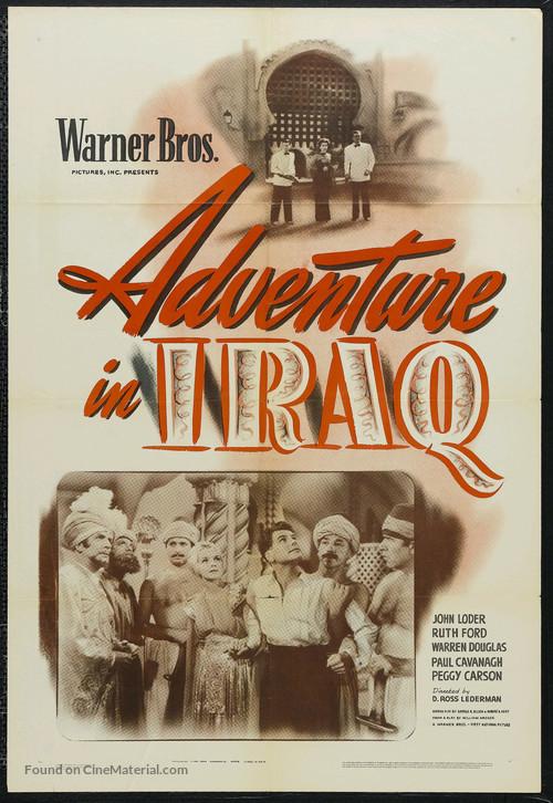 Adventure in Iraq - Movie Poster