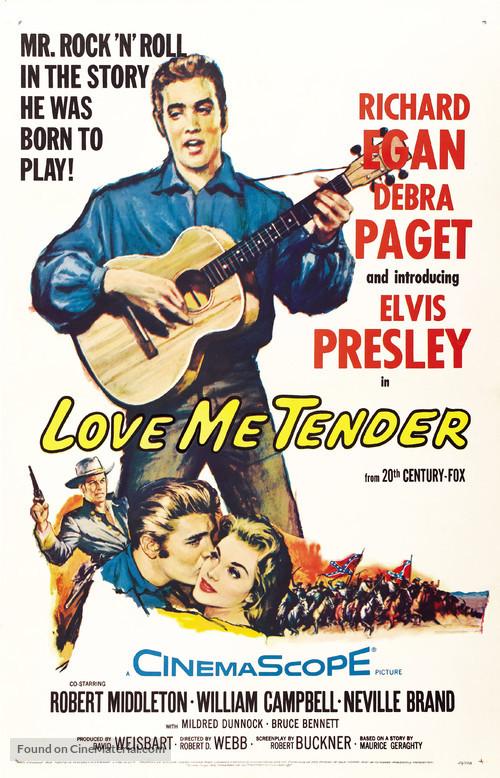 Love Me Tender - Movie Poster