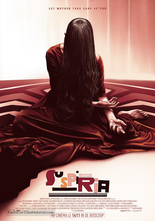 Suspiria - Belgian Movie Poster