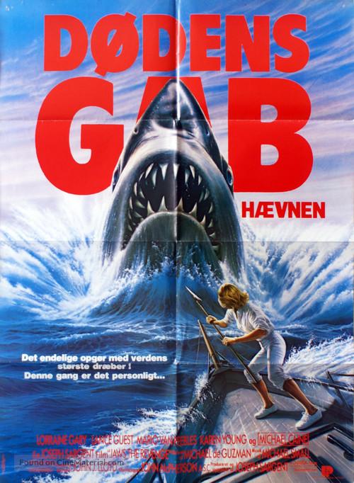 Jaws: The Revenge - Danish Movie Poster