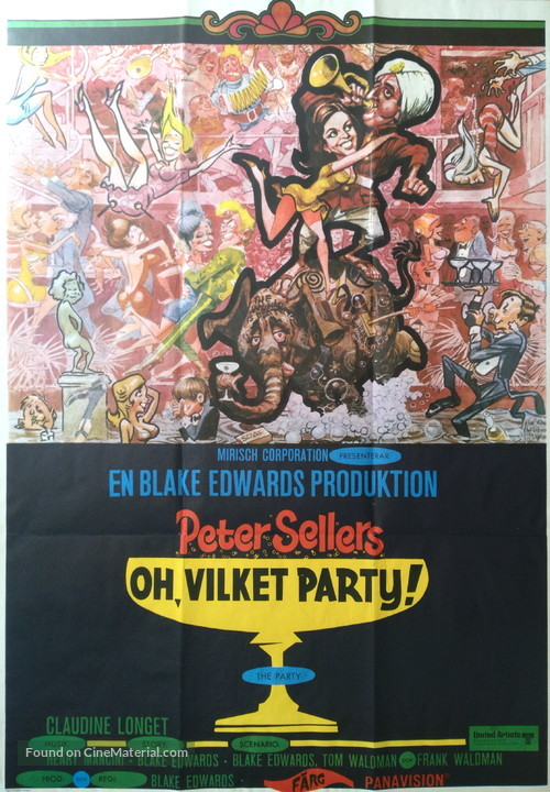 The Party - Swedish Movie Poster