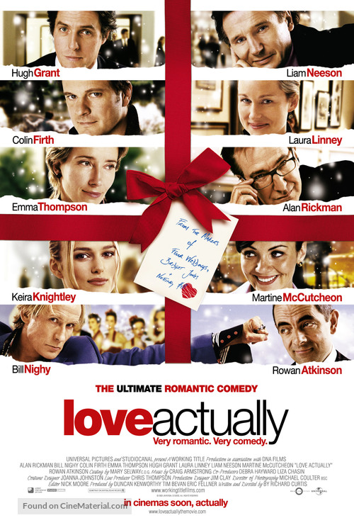 Love Actually - Movie Poster