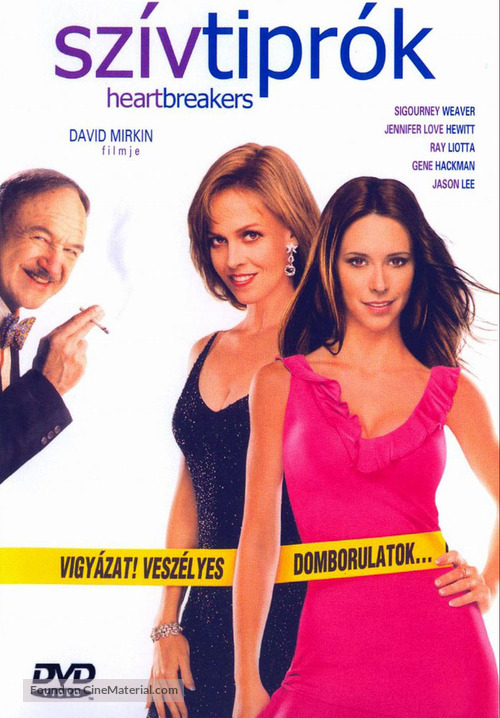 Heartbreakers - Hungarian DVD movie cover