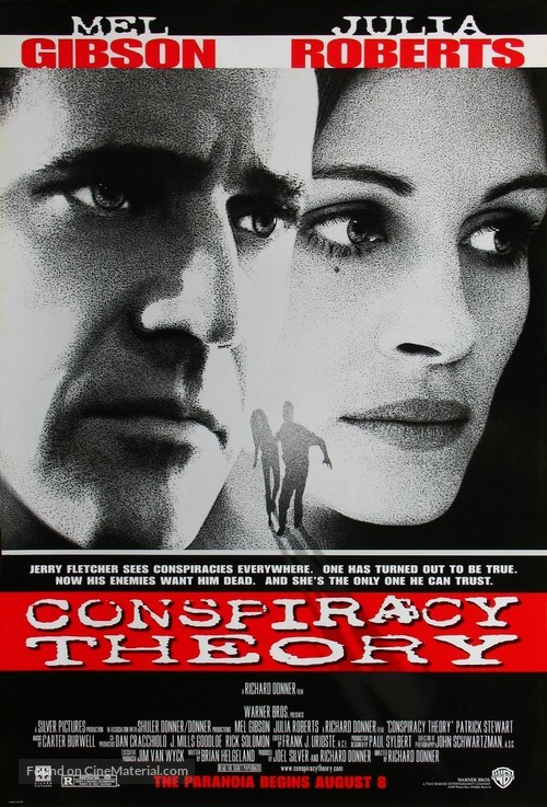 Conspiracy Theory - Movie Poster