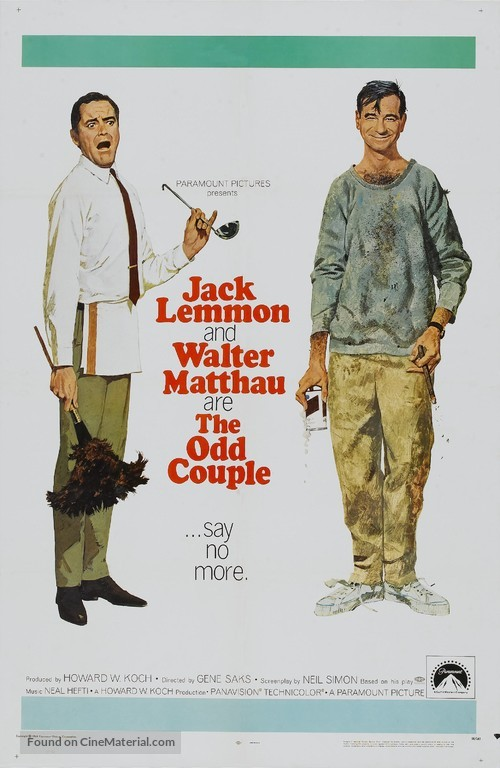 The Odd Couple - Movie Poster
