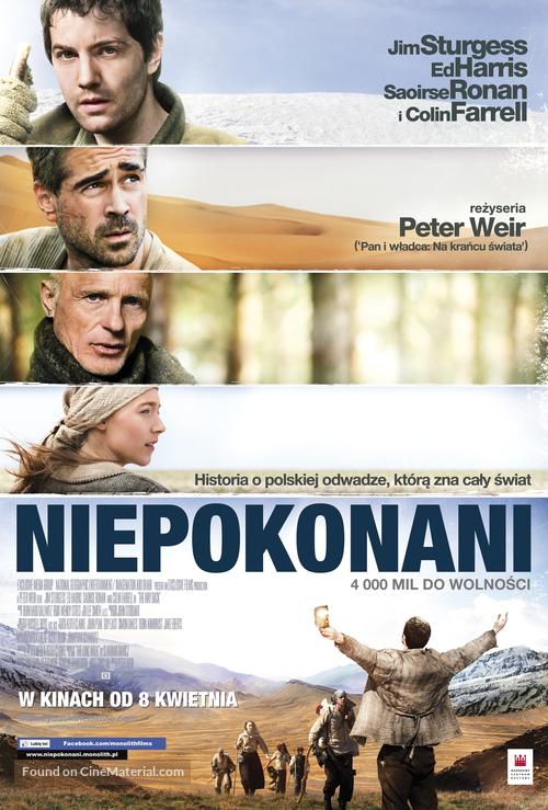 The Way Back - Polish Movie Poster