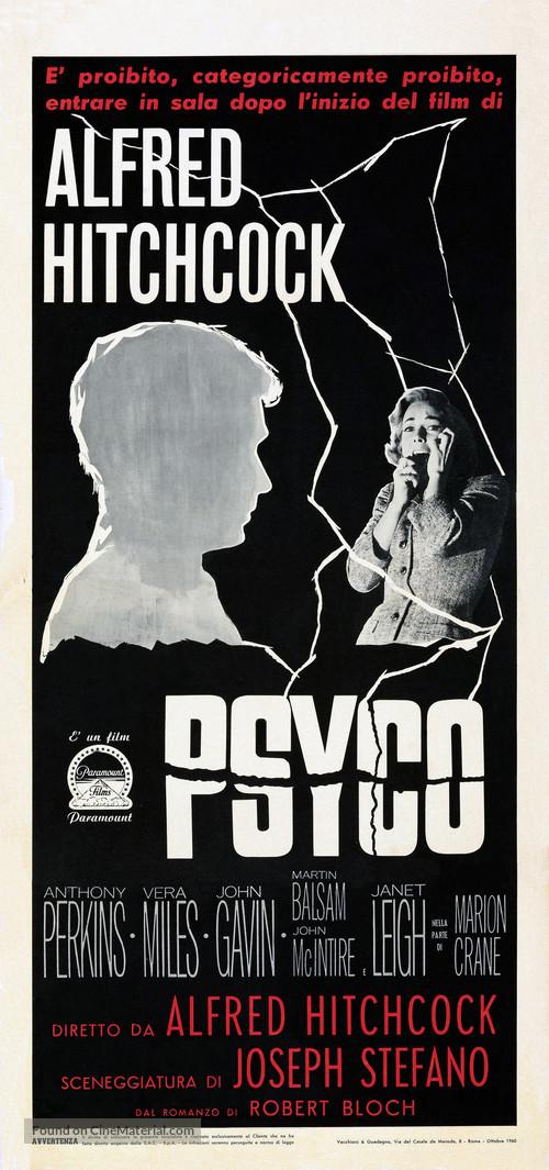 Psycho - Italian Movie Poster