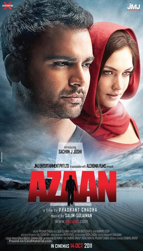 Aazaan - Indian Movie Poster