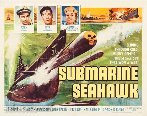Submarine Seahawk - Movie Poster