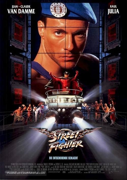 Street Fighter - German Movie Poster