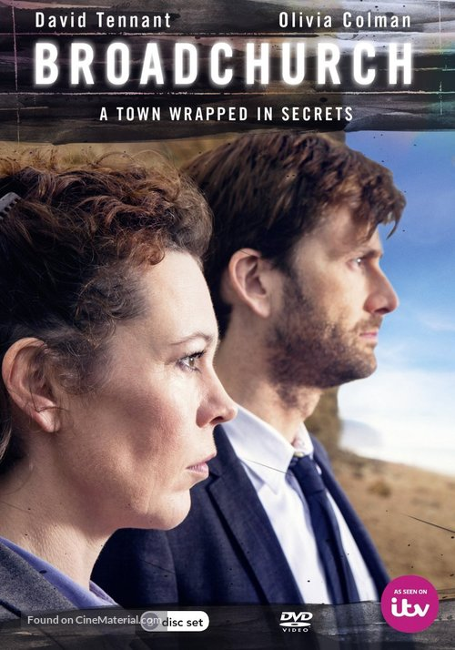 """Broadchurch"" - British DVD movie cover"