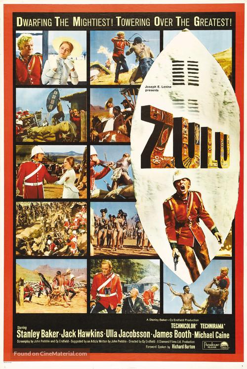 Zulu - Advance movie poster