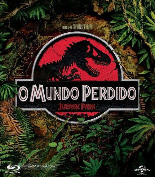 The Lost World: Jurassic Park (1997) Brazilian movie cover