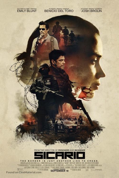 Sicario - Movie Poster
