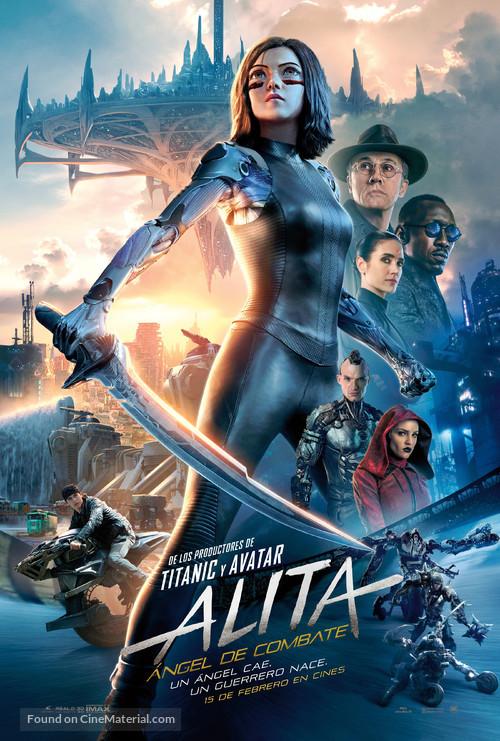 Alita: Battle Angel - Spanish Movie Poster
