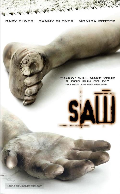 Saw - DVD movie cover