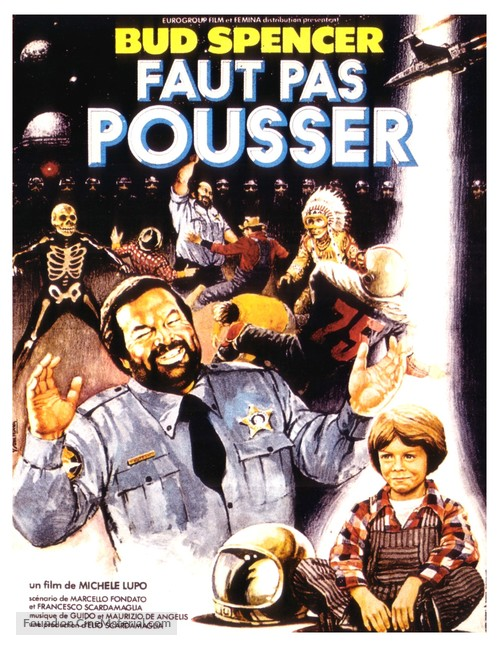 Chissà perché... capitano tutte a me - French Movie Poster