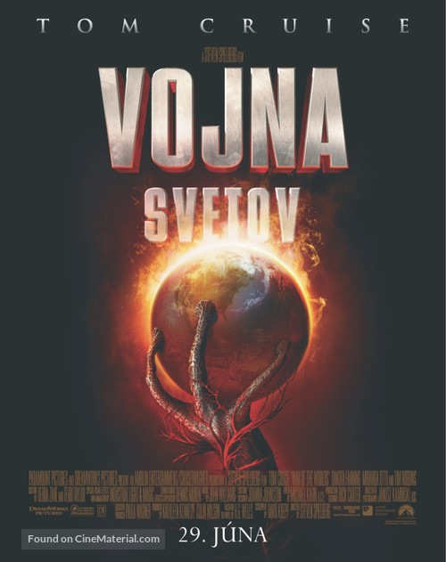 War of the Worlds - Slovak Movie Poster