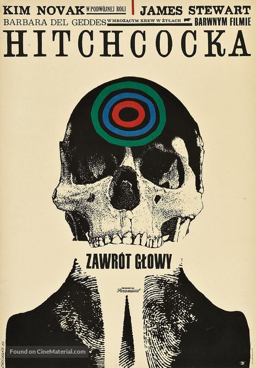 Vertigo - Polish Movie Poster