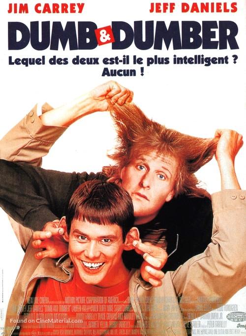 Dumb & Dumber - French Movie Poster
