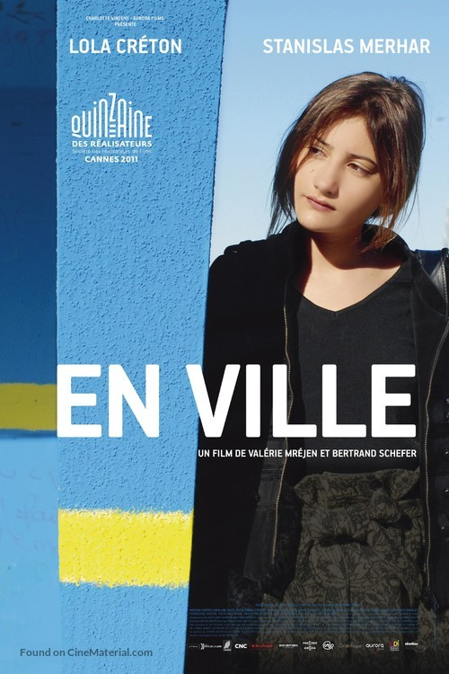 En ville - French Movie Poster