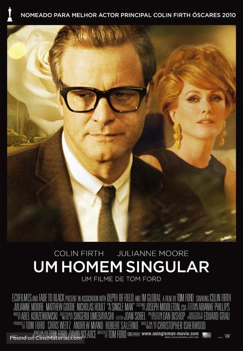 A Single Man - Portuguese Movie Poster