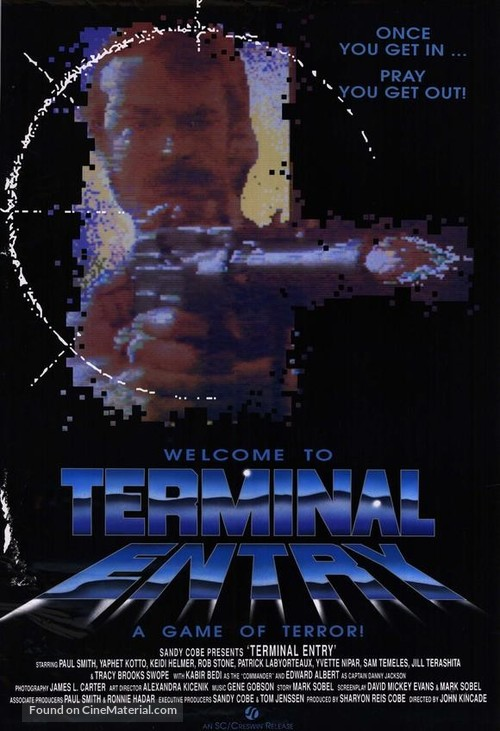 Terminal Entry - Movie Poster