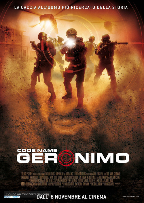 Seal Team Six: The Raid on Osama Bin Laden - Italian Movie Poster
