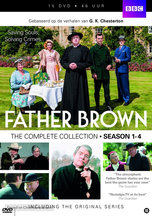 """""""Father Brown"""" - Dutch DVD movie cover"""