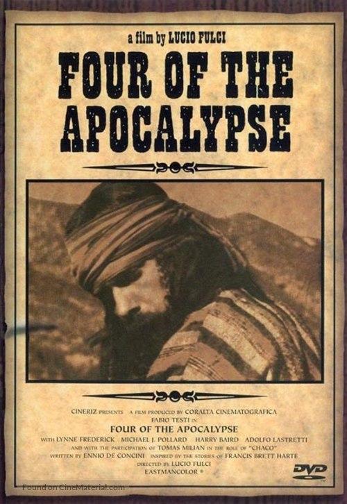 Quattro dell'apocalisse, I - DVD movie cover