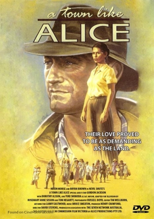 """A Town Like Alice"" - Australian Movie Poster"