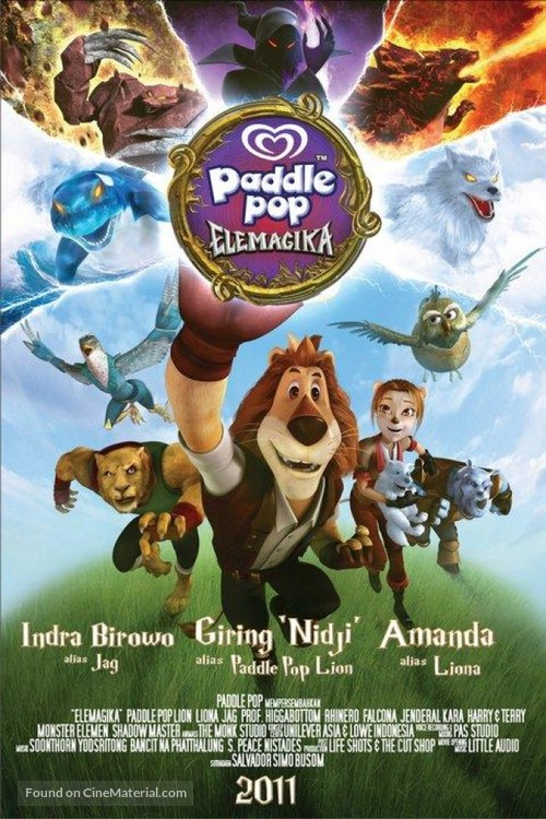 """""""Paddle Pop Adventures"""" - Indonesian Movie Poster"""