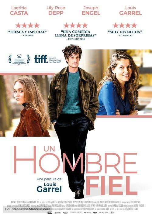 L'homme fidèle - Spanish Movie Poster