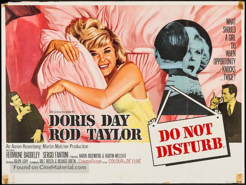 Do Not Disturb - British Movie Poster