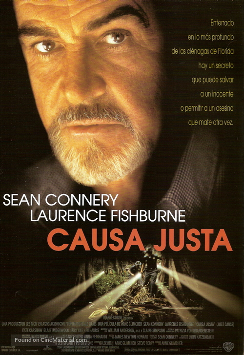 Just Cause - Spanish Movie Poster