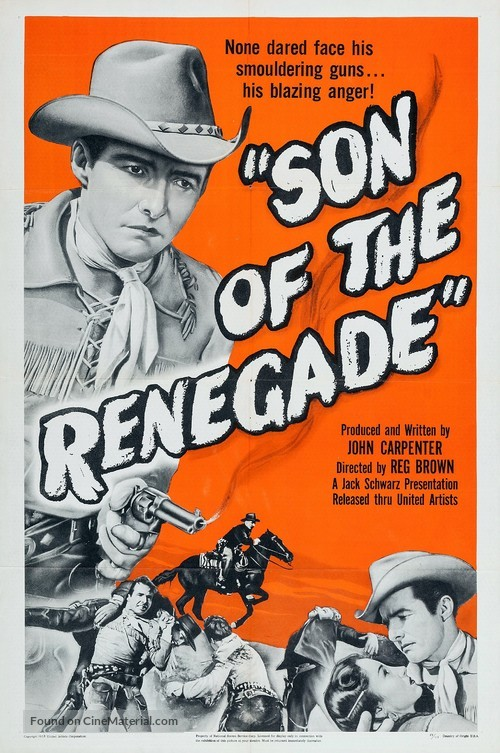 Son of the Renegade - Movie Poster