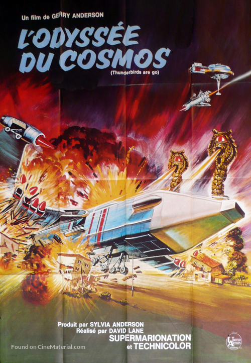 Thunderbirds Are GO - French Movie Poster