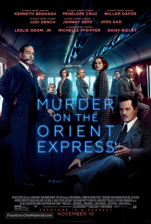 Murder on the Orient Express - Theatrical movie poster