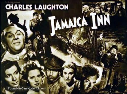 Jamaica Inn - British Movie Poster