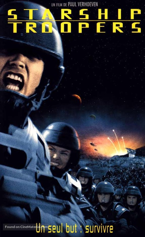 Starship Troopers - French Movie Cover