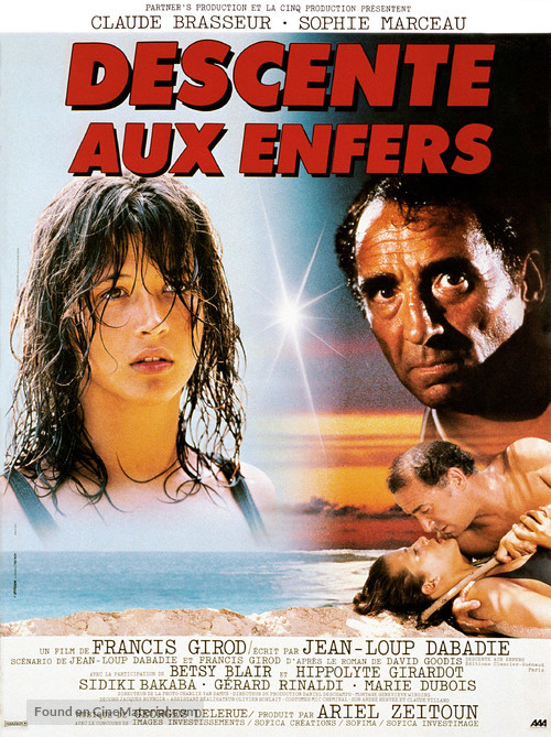 Descente aux enfers - French Movie Poster