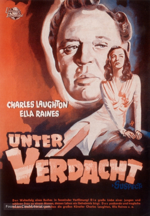 The Suspect - German Movie Poster