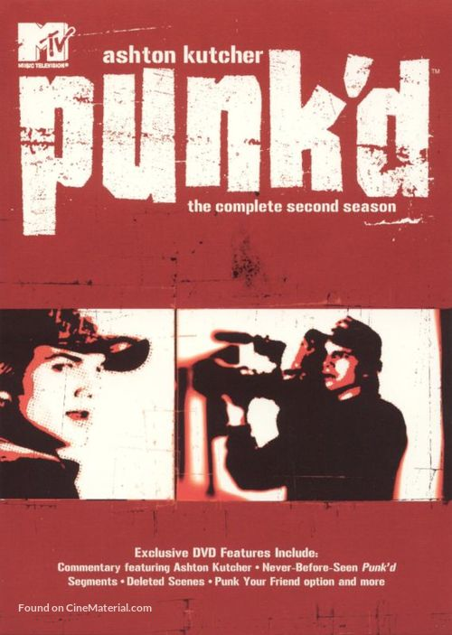"""Punk'd"" - DVD movie cover"